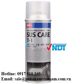 hóa chất tẩy rửa bề mặt thép SUS care T-1
