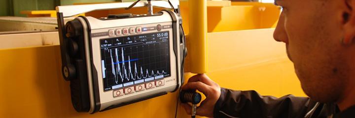 máy siêu âm đường hàn sonoscreen st 10