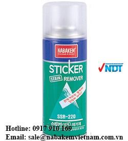 hóa chất tẩy keo SSR-220 VNNDT